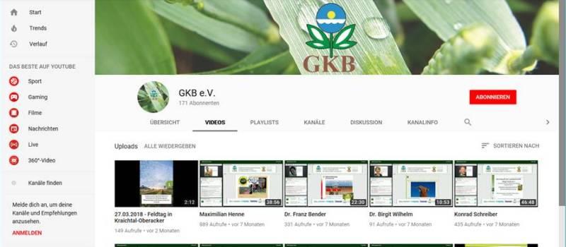 Video youtube gkb